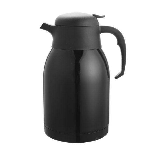 1.0L Stainless Steel Vacuum Jug (Black)-C10005-3KK
