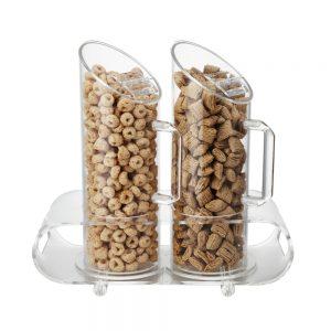 1.0L x 2 Acrylic Cereal Dispenser-CD800-2