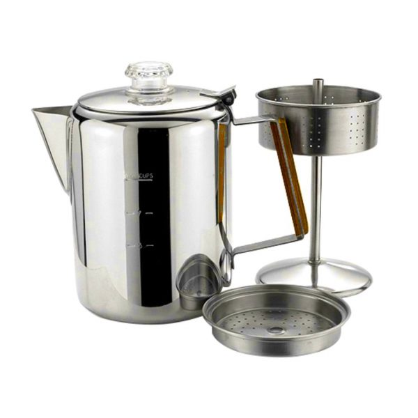 12 Cups Stainless Steel Coffee Percolator-11700