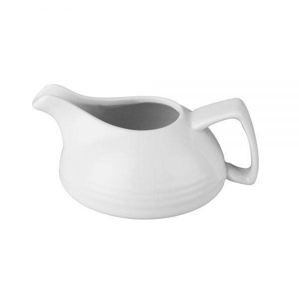 120ml Porcelain Milk Jug (Ring Style)-C88144