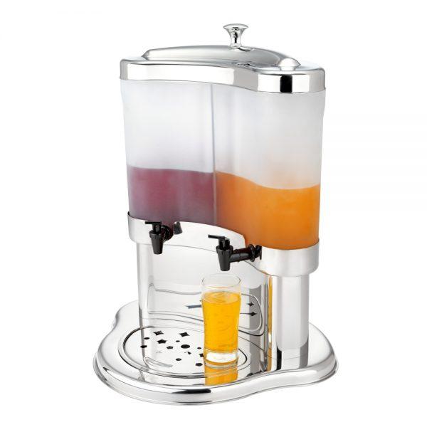 5.0L x 2 Stainless Steel Milk Juice Dispenser with Matt Finish Container (Half Moon Bay Series)-X23889