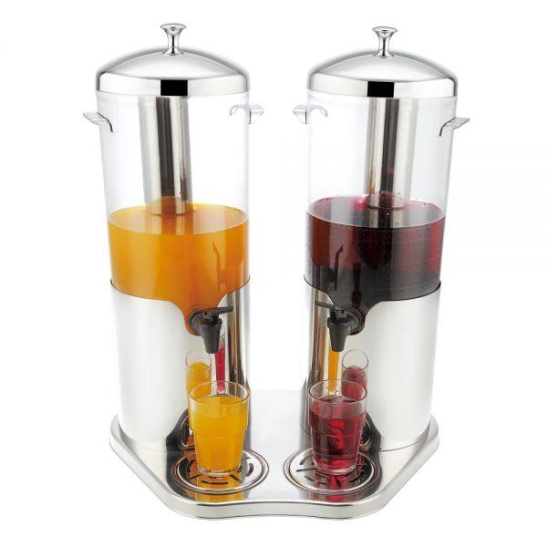 5.0L x 2 Stainless Steel Mini Beverage Dispenser (Marbella Series)-X23588X2