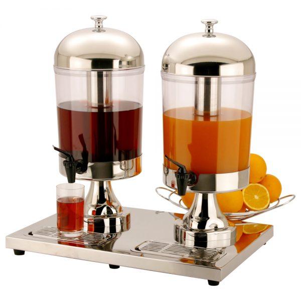 8.0L x 2 Stainless Steel Juice Dispenser-X23688PX2