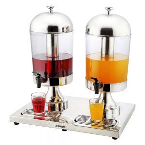 8.0L x 2 Stainless Steel Juice Dispenser-X23688TX2