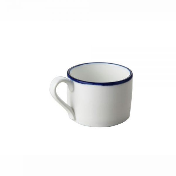 Blue Rim Porcelain Coffee Cup, 220ml7.0fl. oz-C88738B