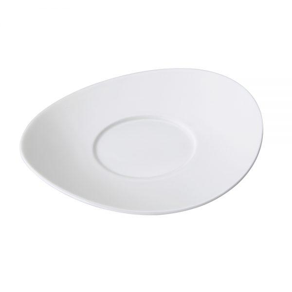 Porcelain Coffee Cup Saucer, 15.5cm6.0inch (Surfine Series)-C88516