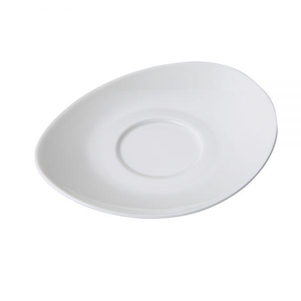 Porcelain Coffee Cup Saucer, 18.5cm 7.0inch (Surfine Series)-C88522