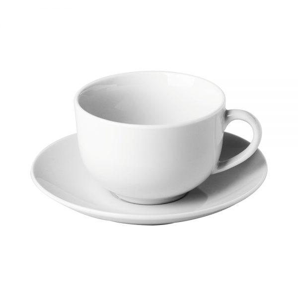 Porcelain Coupe Cup _ Saucer, 200ml7fl.oz (C66 RANGE)-C66021