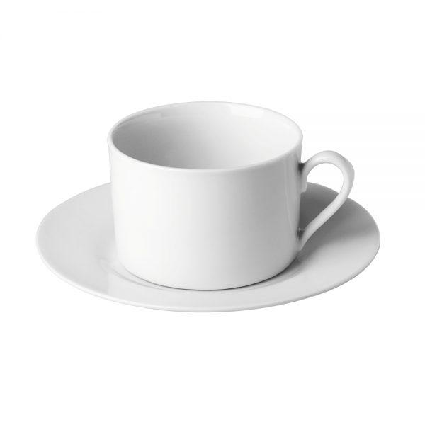 Porcelain Straight Cup _ Saucer, 220ml7.7fl.oz (C66 RANGE)-C66009