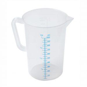 1.0L Polypropylene Measuring Jug-86121-UK