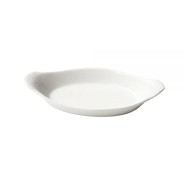 Porcelain Oval Eared Dish 17cm6.5inch-C88078-UK