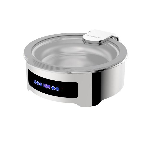 Round 6.8L Dry Heat Chafer (Deluxe Version)-W21-3600