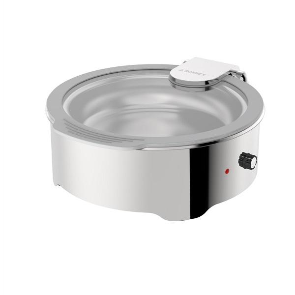 Round 6.8L Dry Heat Chafer (Standard Version)-W21-3610