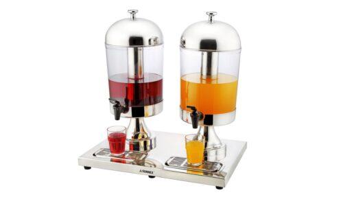 8.0L x 2 Stainless Steel Juice Dispenser-X23688TX2-Articles