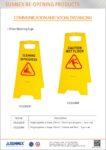 STK2020-06-0563 Floor Warning Sign-Flyer