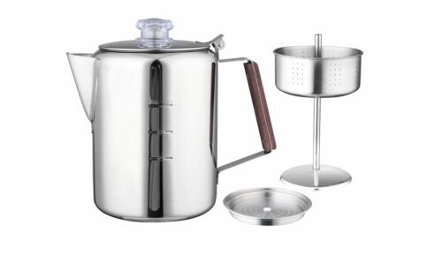 9 Cups Stainless Steel Coffee Percolator-11759